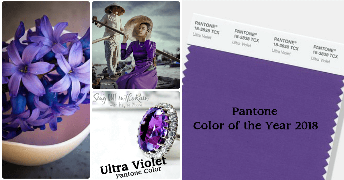 Pantone Color Of The Year 2018 Is Ultra Violet
