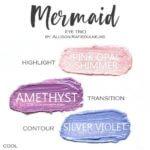Mermaid ShadowSense Trio, pink opal shimmer shadowsense, amethyst shadowsense, silver violet shadowsense