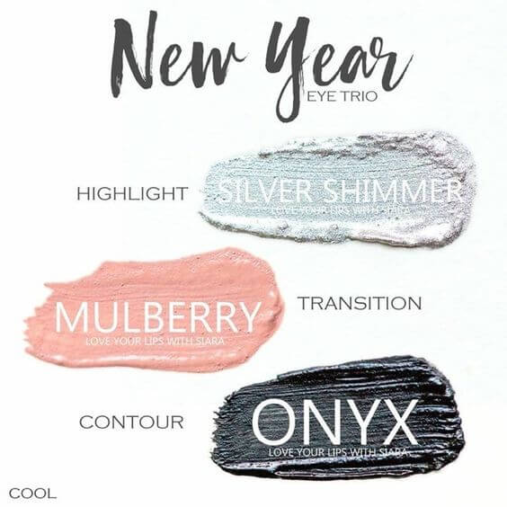 Silver Shimmer shadowsense, mulberry shadowsense, onyx shadowsense, New Year shadowsense trio