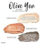 Sandstone Pearl Shimmer ShadowSense, Copper Rose Shimmer Shadowsense, smoked Topaz Shadowsense, Olive You Shadowsense trio