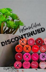 PI - LipSense Colors Discontinued