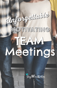 team meeting agenda ideas, direct sales team meeting ideas