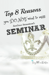 SeneGence Seminar is a don't miss event.