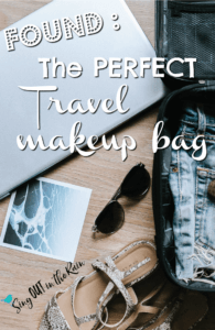 PI - Travel Makeup Bag - pak makeup