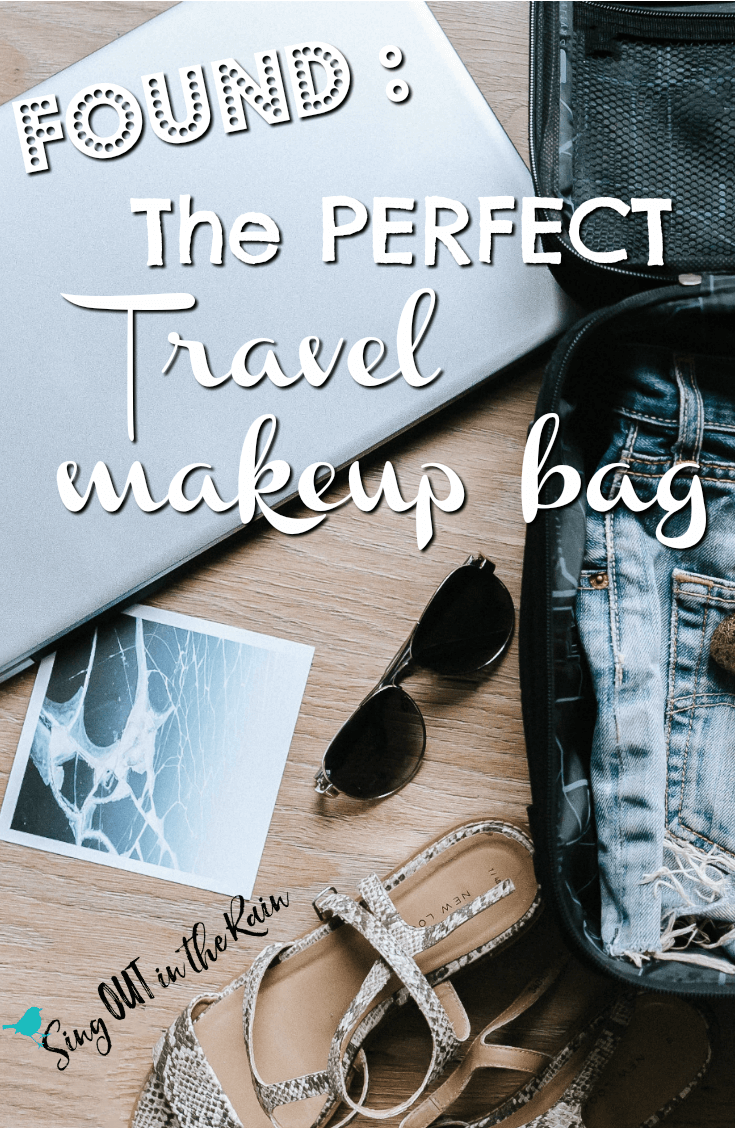 The PERFECT Travel Makeup Bag