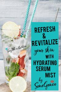 senegence hydration, senegence hydrating mist
