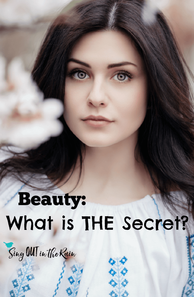 The Secret to being Beautiful