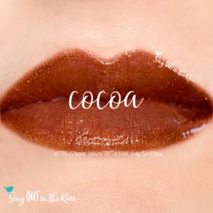 cocoa lipsense, cocoa lipsense combinations