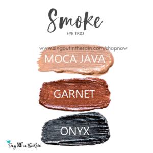 Smoke Shadowsense trio, moca java shadowsense, garnet shadowsense, onyx shadowsense