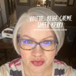 Violette LipSense, LipSense Mixology, Beige Creme LipSense, Sheer Berry LipSense