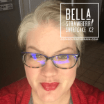 Bella LipSense, LipSense mixology, Strawberry Shortcake LipSense