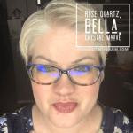Rose Quartz LipSense, Bella LipSense, LipSense mixology, Crystal mauve lipsense