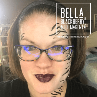 lipsense mixology, Bella LipSense, Blackberry LipSense, Zebra Cosplay, Mod Magenta LipSense, Limited Edition Mod Magenta