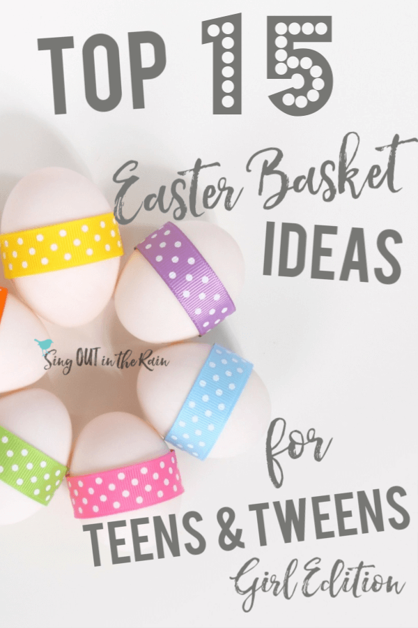 TOP 15 Easter Basket Ideas for Teens & Tweens: GIRLS edition