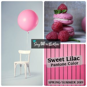 spring summer 2019 pantone colors, pantone spring color collages