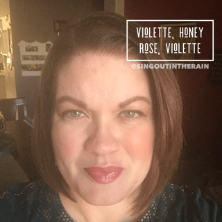 violette lipsense, lipsense mixology, honey rose lipsense