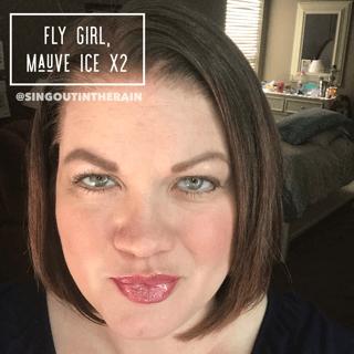 Fly Girl LipSense, Fly Girl LipSense Combinations, Mauve Ice LipSense, lipsense mixology