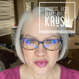 Goddess LipSense, LipSense Mixology, Lexie Beary LipSense, Kelly's Krush LipSense