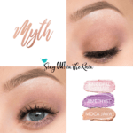 Myth ShadowSense Trio, Pink Opal Shimmer ShadowSense, Amethyst ShadowSense, Moca Java Trendy Easter Makeup Looks, Trendy Easter Makeup Ideas,