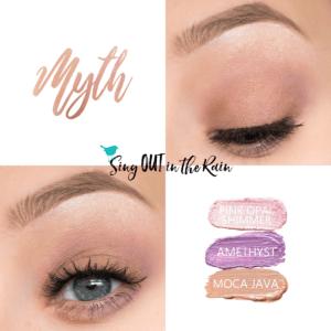 Myth ShadowSense Trio, Pink Opal Shimmer ShadowSense, Amethyst ShadowSense, Moca Java Trendy Easter Makeup Looks, Trendy Easter Makeup Ideas,