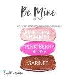 pink opal shimmer shadowsense, pink berry blushsense, garnet shadowsense, be mine eye trio