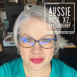 Aussie Rose LipSense, Boysenberry LipSense, LipSense Mixology