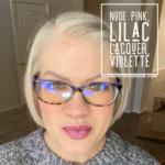 Lipsense Mixology, Lilac Lacquer LipSense, Nude Pink LipSense, Violette LipSense