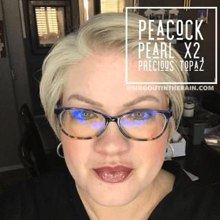 Peacock Pearl LipSense, LipSense Mixology, Precious Topaz LipSense