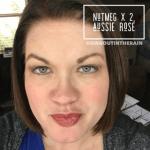 Nutmeg LipSense, Aussie Rose LipSense, nutmeg lipsense combo, lipsense mixology