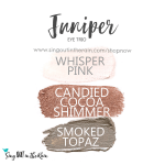 Juniper Eye Trio, whisper pink shadowsense, candied cocoa shimmer shadowsense, smoked topaz shadowsense