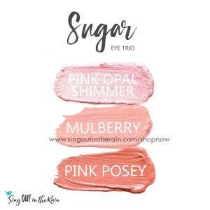 Sugar Eye Trio, pink opal shimmer shadowsense, mulberry shadowsense, pink posey shadowsense