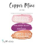 Pink Opal Shimmer Shadowsense, copper rose shimmer shadowsense, pink berry blush, amethyst shadowsense, copper mine trio
