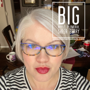 Big Apple LipSense, LipSense Mixology, Sheer Berry LipSense, Plumeria LipSense