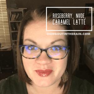 Roseberry LipSense, LipSense Mixology, Nude LipSense, Caramel Latte Lipsense