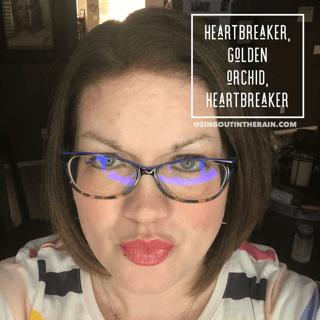 Heartbreaker LipSense, Heartbreaker LipSense Combos, Golden Orchid LipSense, LipSense Mixology