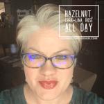 Hazelnut LipSense, Cora Lina LipSense, Rose All Day LipSense, LipSense Mixology