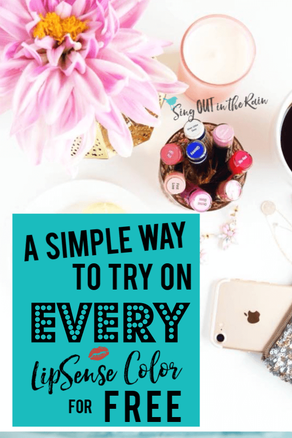 A Simple Way to Try on EVERY LipSense LipColor for FREE . . . with SeneGence SeneLook App