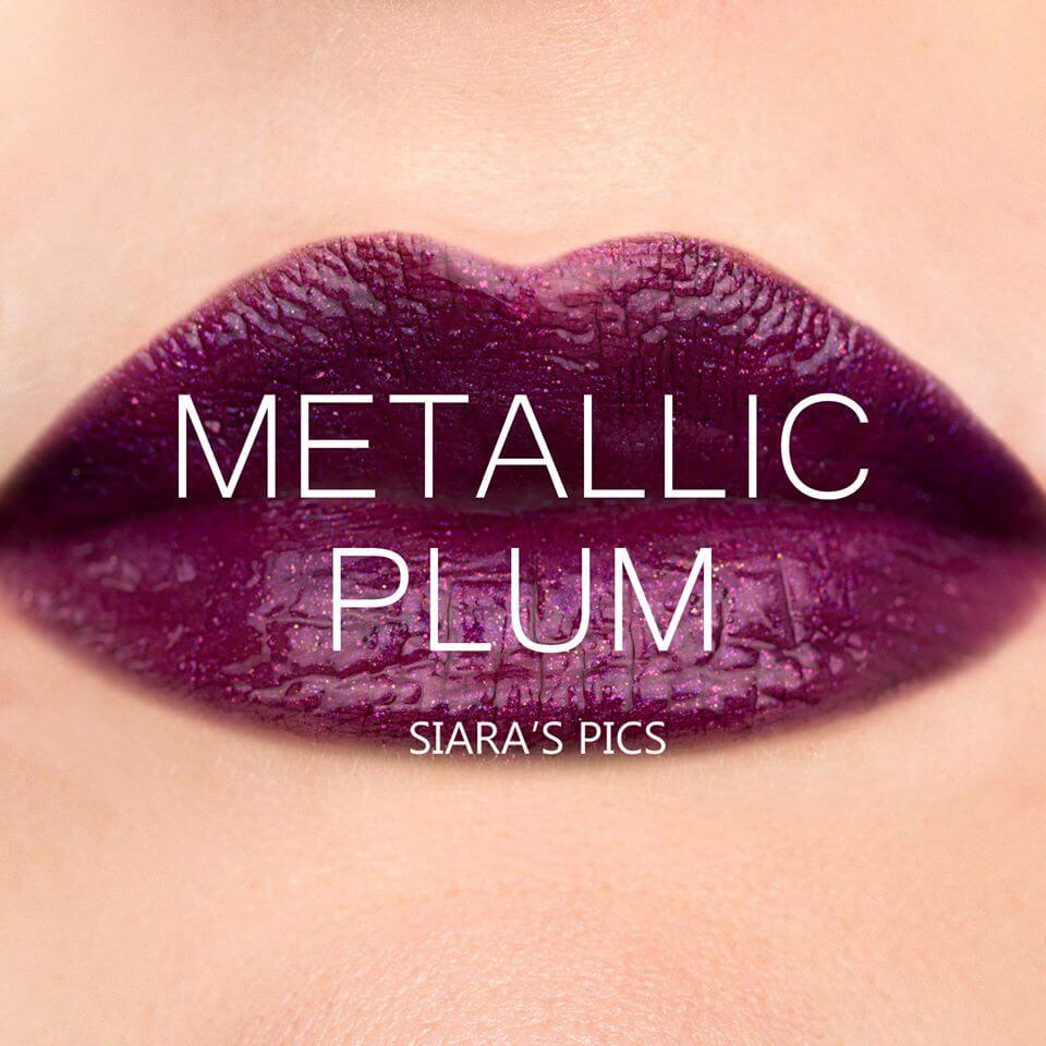 metallic plum lipsense