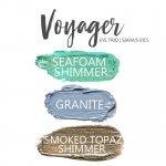 Voyager ShadowSense Eye Trio, seafoam shimmer shadowsense, granite shadowsense, smoked topaz shimmer shadowsense