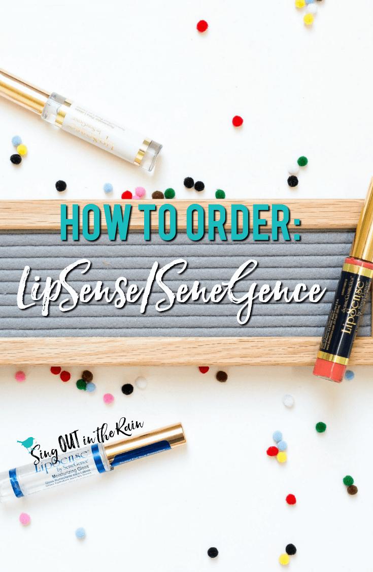 How to Order LipSense