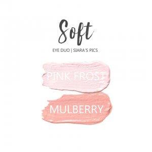 soft shadowsense eye trio, pink frost shadowsense, mulberry shadowsense