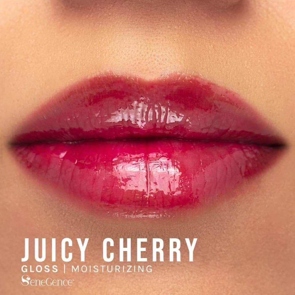 juicy cherry gloss, lipsense gloss jellies collection