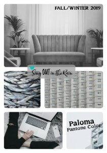 Pantone Trends Fall 2019, Pantone Fall 2019 Colors, Paloma, Paloma Pantone Color, Fall/Winter 2019 Pantone Color
