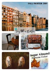 Pantone Trends Fall 2019, Pantone Fall 2019 Colors, Sugar Almond, Sugar Almond Pantone Color, Fall/Winter 2019 Pantone Color