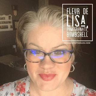 Fleur de Lisa LipSense, Bombshell LipSense, Pomegranate LipSense, LipSense Mixology