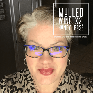 Honey Rose LipSense, LipSense Mixology, Mulled Wine LipSense