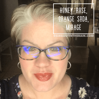 Honey Rose LipSense, LipSense Mixology, Orange Soda LipSense, Mirage LipSense
