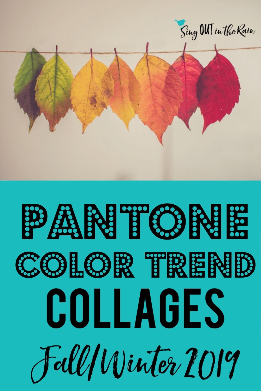 Pantone Trends Fall 2019