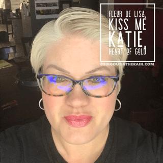 Fleur de Lisa LipSense, Kiss Me Katie LipSense, lipsense mixology, Heart of Gold LipSense