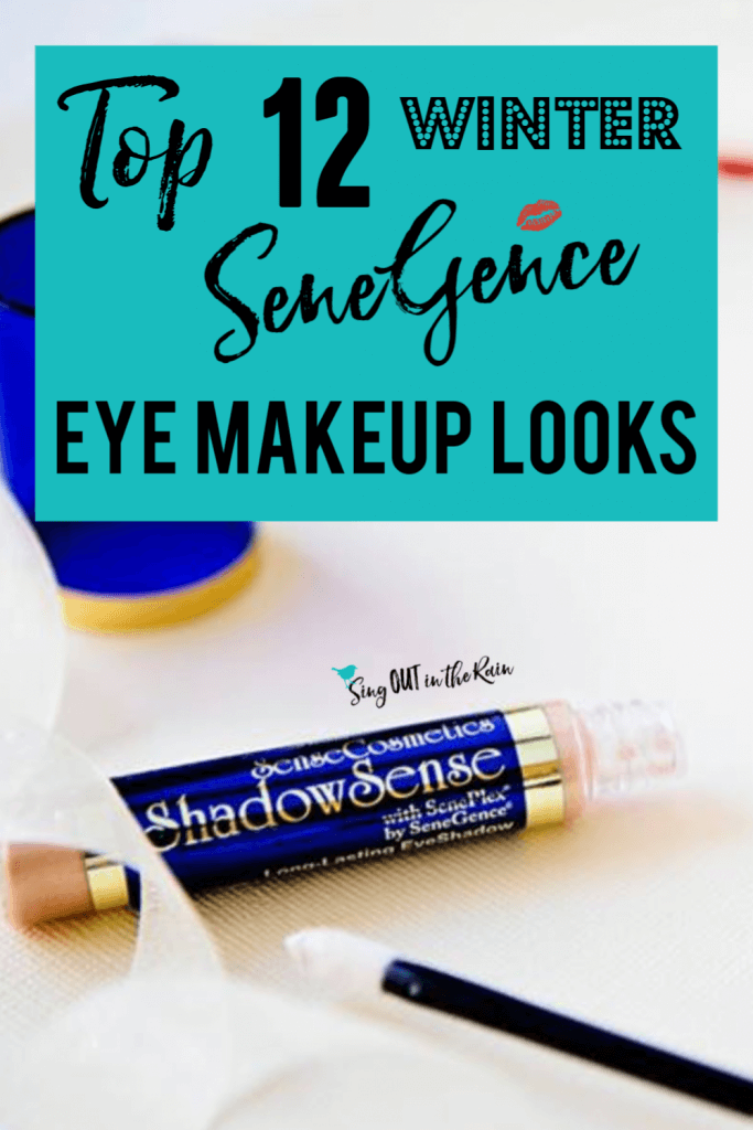 best shadowsense looks for winter, Winter SeneGence Eye Makeup